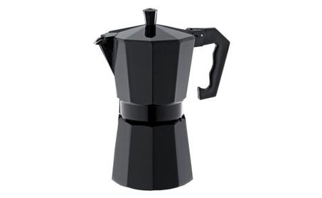 Kitchen 3 Cup Black Coffeee Maker Espresso Maker photo