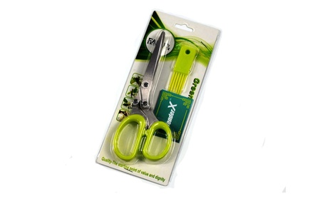 5 Blades and Cover Stainless Steel Herb Scissors Kitchen Shears 78333c71-b77d-4b7b-b5f2-2f8a3e5cf740