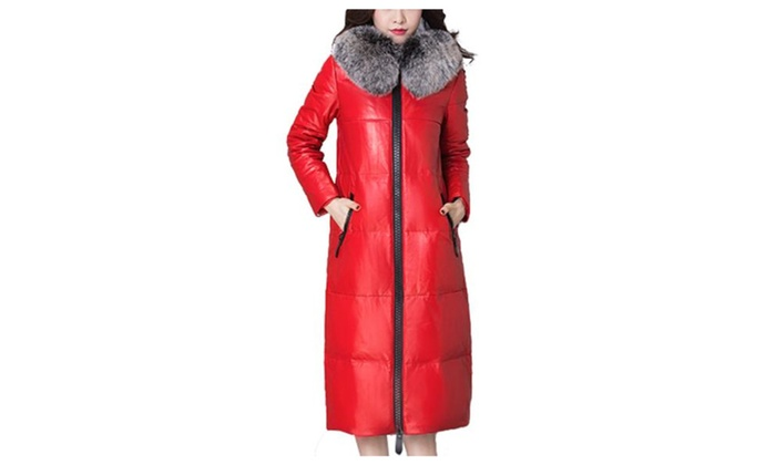 Women's Solid Regular Fit Casual Leather Jacket