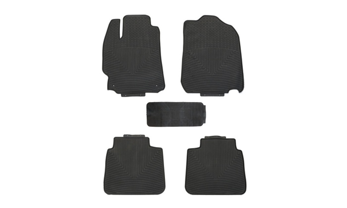 All Weather Floor Mats For Toyota Camry 2017