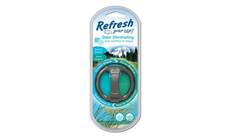 Assorted styles and scents of Refresh air fresheners for home & auto 9edfa588-e7ed-47ae-a778-0b760139123d