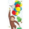 Roommates Curious George Giant Wall Decal