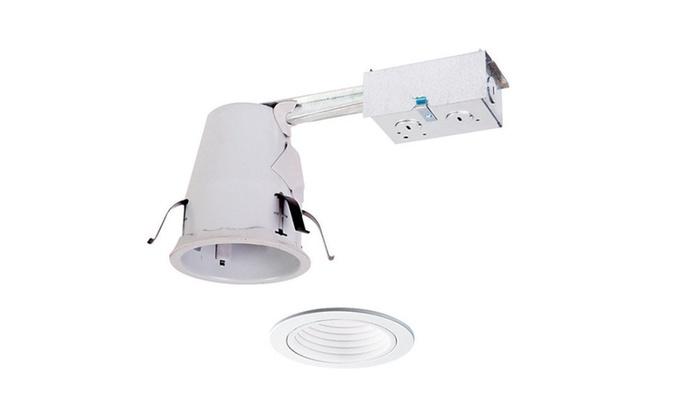 Cooper Lighting AP4RATBW Recessed Housing And Baffle Trim Kit