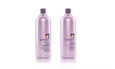 Pureology Hydrate Shampoo and/ or Conditioner (Liter 33.8oz) Was: $70.00 Now: $39.34