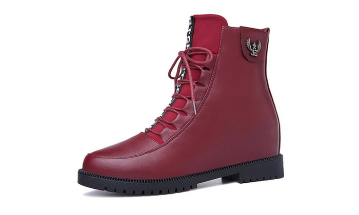 Women's Insulation Stitched Martin Boots
