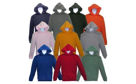 SPECIEN Youth Heavy Weight Hooded Pullover Fleece Sweatshirt Hoodie fcdb6f1d-30c8-434b-b288-4e5fbed4af46