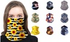 Scarves Neck Gaiter 12 in 1 Headwear Headband Multifunctional Scarf 9-Pack