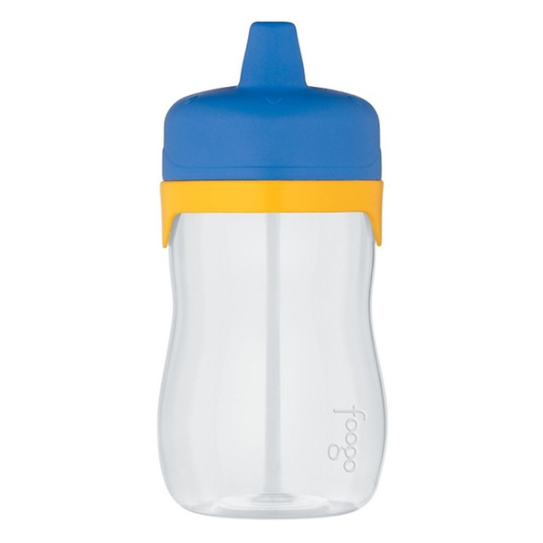 Blue//Yellow Thermos Foogo Phases Leak Proof Sip Valve Tritan Sippy Cup 11 Ounce
