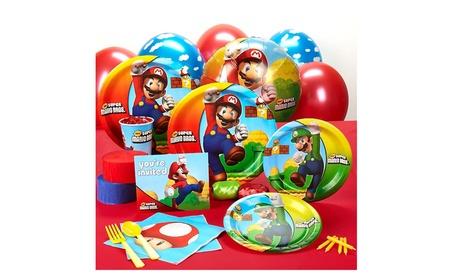 Party Destination 164365 Super Mario Bros. Standard Party Pack 27b4fc07-8738-4cce-9558-9f7cc5699789