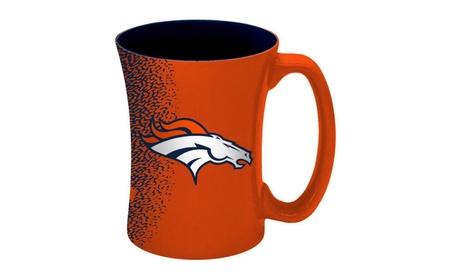 Denver Broncos Coffee Mug - 14 oz Mocha 2b6f4a99-e1d8-4355-b4e2-e8d3faf2d99e