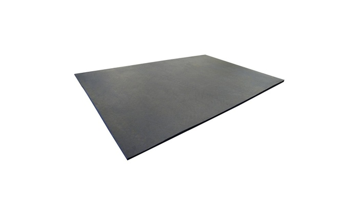 Rubber Cal Maxx Tuff Heavy Duty Rubber Floor Protection Mat