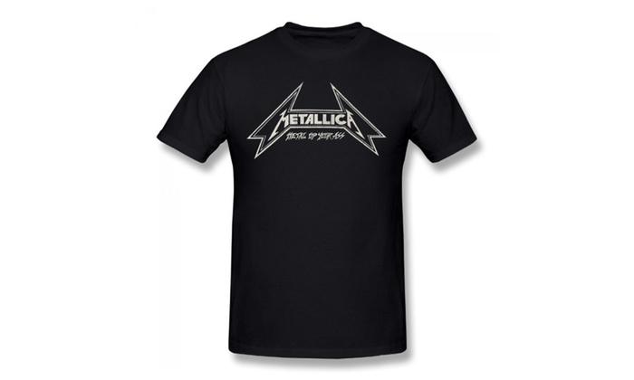 5e6a91d2 Metallica Men's Metal Up Your Ass T-shirt Black | Groupon