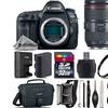 Canon EOS 5D Mark IV Camera plus 24-105mm f/4L IS II -  32GB Kit, Black