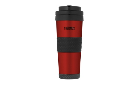 Thermos 14 Ounce Vacuum Insulated Stainless Steel Tumbler, Cranberry d5a63af0-42e2-44bf-b424-16c98df479d0