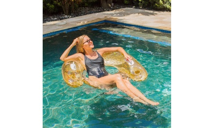 Pool Candy Deluxe Glitter Jumbo Sun Chairs