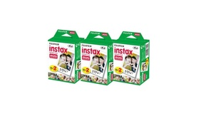 60 Prints Fujifilm Instax Mini Instant Film for Fuji 9 8 25 50 7s Neo 90 SP1