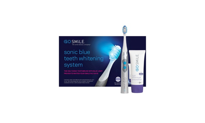 Up To 21 Off On Go Smile Sonic Blue Teeth Whi