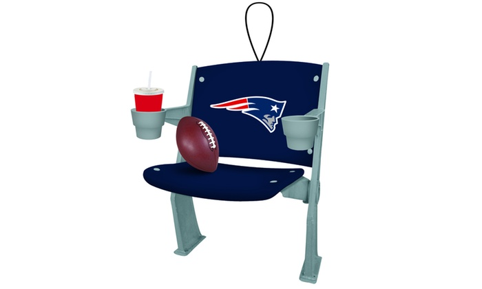Team Sports America Denver Broncos Stadium Chair Ornament