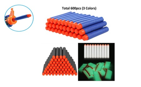 New 600pcs Kids Toy Gun Refill Bullet Darts for Nerf N-strike Blasters 6fa72d07-a980-42c0-a44e-c36ea04637cf
