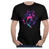 Men's VEBLEN Men's Hyper Light Drifter T-shirts Black