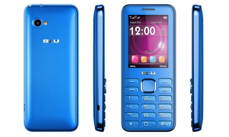 BLU Diva II T275 Unlocked GSM Feature Phone - Blue d0592542-11fe-4c08-9b9b-982161a131c9