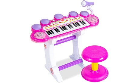 37-Key Kids Electronic Musical Instrument Piano Learning Toy Keyboard