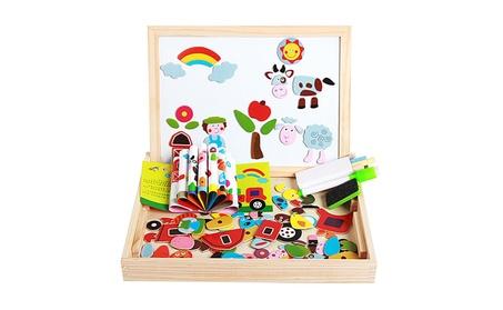 Magnetic Board Chalkboard Easel Toys Farm Puzzle Dry Erase Board Gift c26a56c1-19df-4115-bd56-b7aa6b27963d