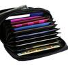 Shop Sky  RFID Security Wallet Leather Accordion Flip Credit Card Zipp