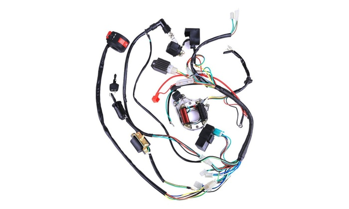 cisno complete electrics stator coil cdi wiring harness for 4 stroke rh groupon com