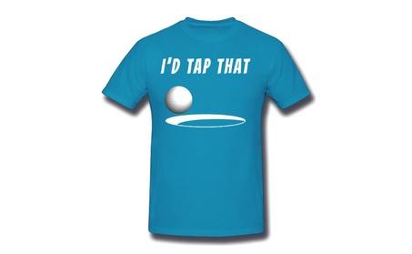 Pumpkinzs I'd Tap That Golf Funny Blue T-shirt For Men 0555714d-cd9d-43ef-a928-cf97f26c9aae