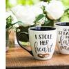 Ceramic Cup O' Java Mug Gift Set (18 Oz.; 2-Piece)