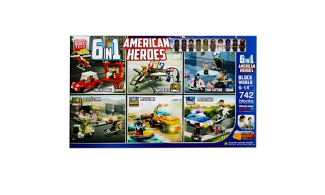Block Tech 6' N 1 American Hero 84417ecc-ef45-45fd-9191-6bfc1f306d8a