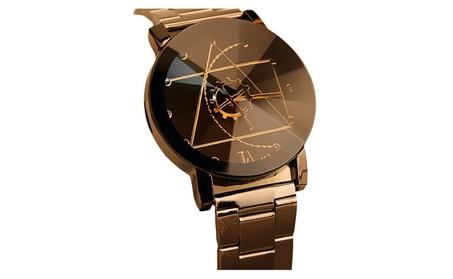 Quartz Analog Stainless Steel Wrist Watch for Man 569e3280-e953-4567-b5c6-da991b2a1bf8