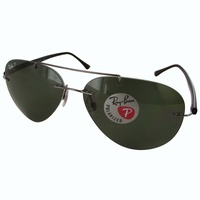 Deals on Ray Ban Mens RB8058 Polarized Sunglasses
