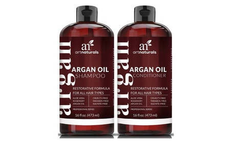 Art Naturals Organic Moroccan Argan Oil Shampoo and Conditioner Set 01deffcc-1578-4311-b3eb-b2685233f32e