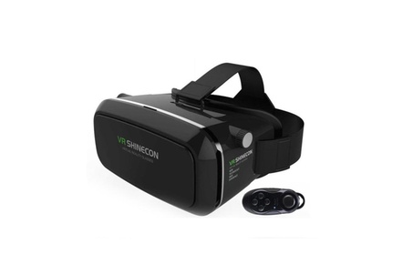 3D Virtual Reality VR Glasses Head Mount Google Cardboard +Controller d0fd9c32-12dd-464f-a519-c2f9ce341375