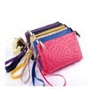 Omg omg faux ostrich leather purse in 6 colors