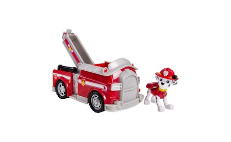Paw Patrol Marshall's Fire Fightin' Truck Vehicle and Figure 63b76a44-7cdc-481f-ae25-7ad753b23541