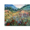 'Field of Wild Flowers' Canvas Rolled Art
