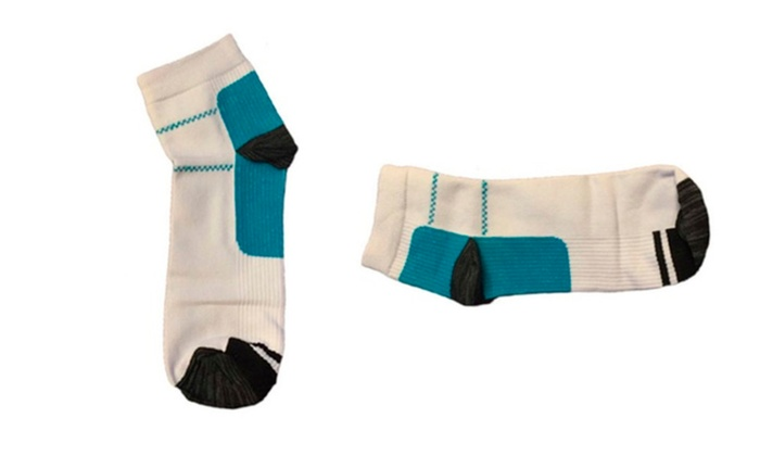 A Pair of Soft Compression Antibacterial Sock Unisex