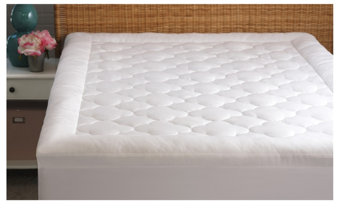 allied home ultimate comfort puffy cloud mattress topper