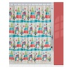 Creative Bath S1212MULT Holiday Owls Shower Curtain