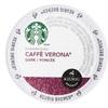 Starbucks K-Cup for Keurig Dark Roast Caffe Verona Coffee