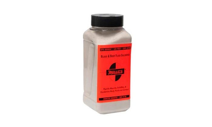 SMELLEZE Medical Waste Clean Up Super Absorbent : 50 lb. Granules