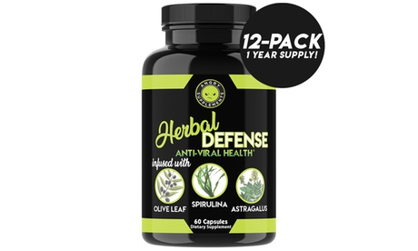 Angry Supplements Herbal Defense Antiviral Immunity Support, Year Supply