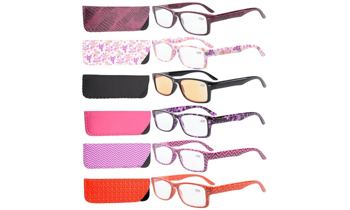 5cfb6d2674c Up To 63% Off on Eyekepper Reading Glasses 6PC...