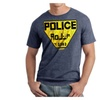 The Fifth Element Police Logo Men's Navy Heather T-shirt Sizes S-2XL
