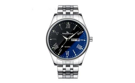 Waterproof Blu-Ray Mirror Men's Quartz Watch c5199184-6bf7-47d2-9a13-76b01c3118f1