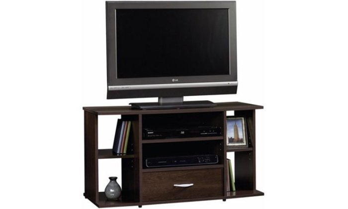 Sauder Beginnings Panel Tv Stand For Tvs Up To 42 Cinnamon Cherry
