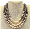Luxury Simulated Pearl Choker Necklace for Women